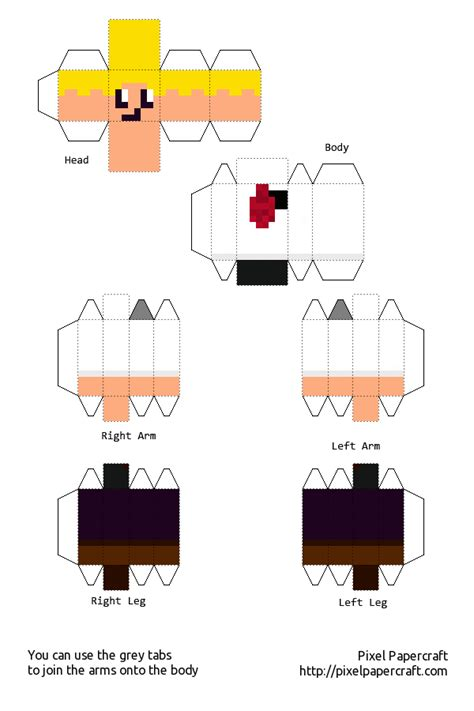 Minecraft Papercraft Skin Maker - the maker s box minecraft paper craft