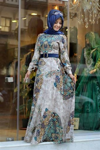 Ce Kaftan Lathanza Ada Warna 21 model kebaya muslim modern pesta terbaru 2017 2018