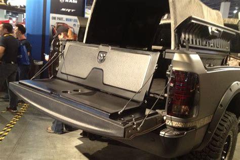 tailgate bench seat flip up ram tailgate seat from mopar