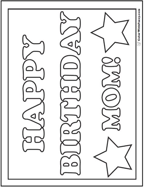 customizable happy birthday coloring page customizable birthday coloring pages coloring pages