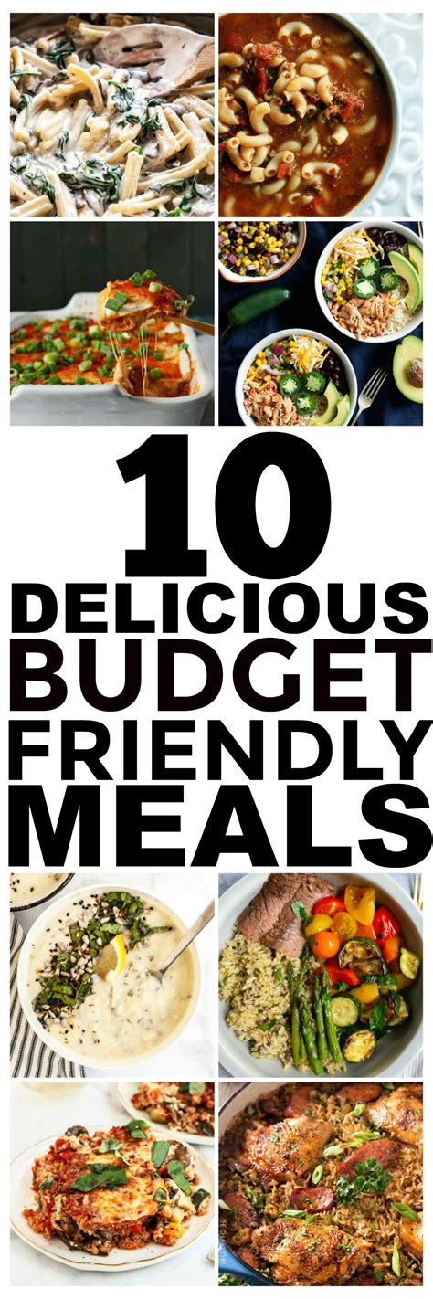 10 dinners for 5 cheap dinner recipes and ideas 10 budget recipes and cheap easy meals you should try