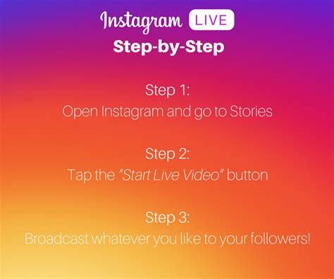 how to live a instagram live why you should go live in 2017