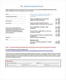vaccination consent form template 7 sle vaccine consent forms free documents in word pdf