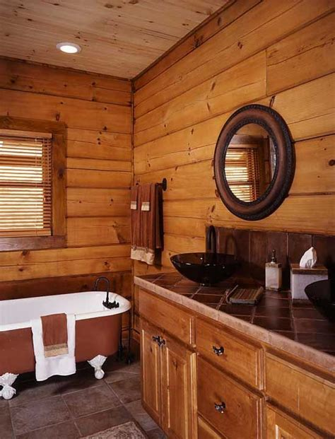 bathroom log 1000 ideas about log home bathrooms on pinterest log