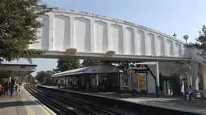 Kew Gardens Station by Kew Gardens Station Footbridge 169 Christopher