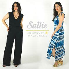 short sleeve jumpsuit 03 2015 115b sewing patterns 1000 images about sallie jumpsuit maxi dress on