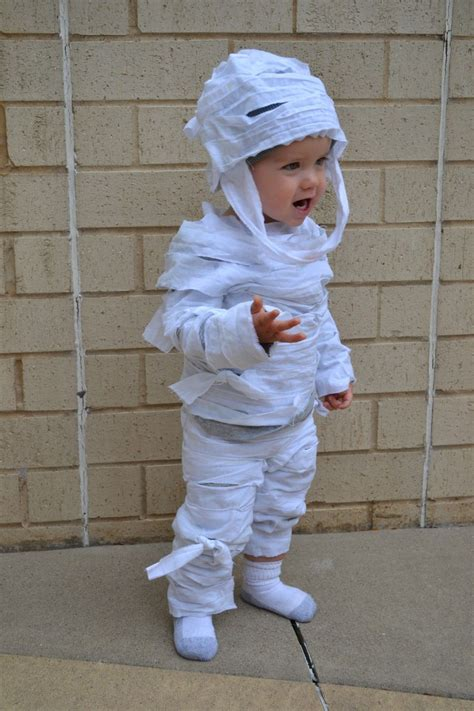 easy  sew childs mummy costume