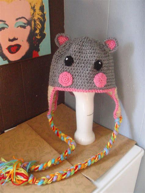 Win Win Crochet Cat Shape Hat nyan cat hat by demeter on deviantart