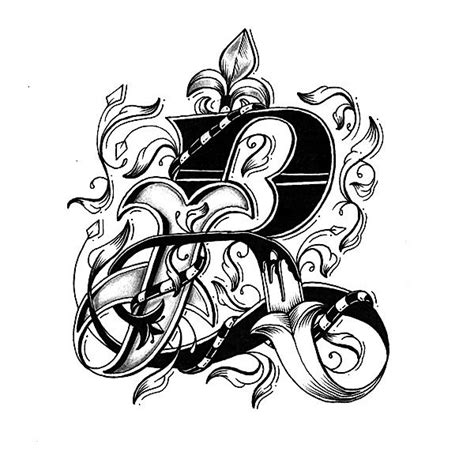 letter design for tattoos free download best letter