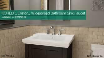k r72781 4d elliston widespread bathroom sink faucet
