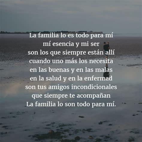 la familia los amigos el amor y la vida palabras los 12 mejores poemas para la familia poes 237 as de familia