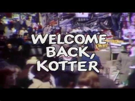 theme song welcome back kotter theme from welcome back kotter youtube