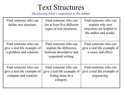 text structure of biography ss text structure
