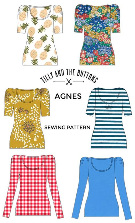 pattern making with stretch knit fabrics fabric ideas for the agnes sewing pattern tilly and the
