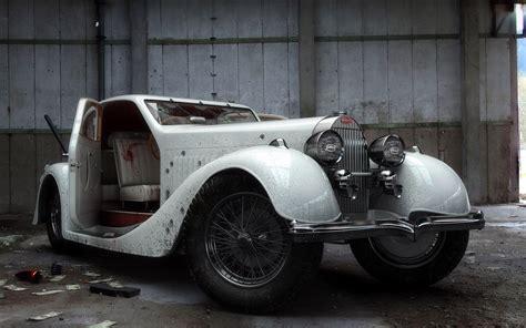 vintage bugatti old car wallpaper 1920x1200 48171