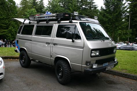 volkswagen westfalia 4x4 spotted vr6 syncro vanagon the car hobby vw westy