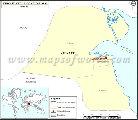 Kuwait Address Finder Where Is Kuwait City Location Of Kuwait City In Kuwait Map