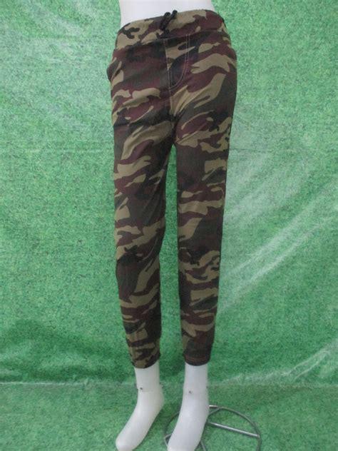 Celana Chino Jogger Army Wanita Allsize joger army obralanbaju obral baju pakaian murah meriah 5000