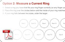 find  ring size  jamesallencom