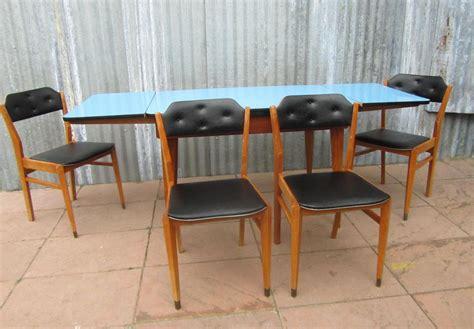 Retro Vintage Black Vinyl Dining Chairs 1950s 1960s Retro Vinyl Dining Chairs