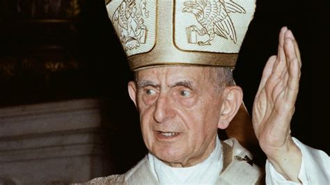 Pope Paul VI who died 40 years ago underscored the