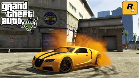 Gta 5 Cheats To Spawn A Bugatti Gta 5 Tuning Gold Adder Bugatti Veyron Amazing