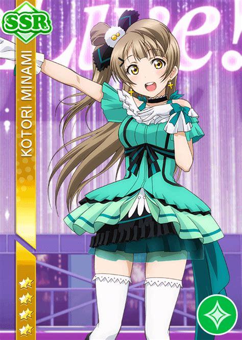 Live School Idol Festival Card Template Ur by School Idol Tomodachi Cards Album 939 Minami Kotori Ssr