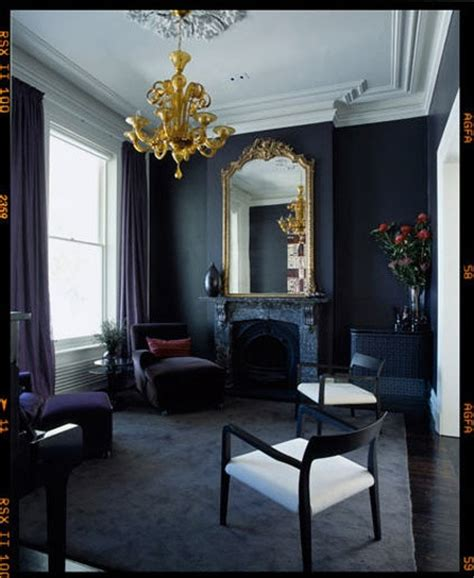 black grey living room currently in decor a navy affair the decorista