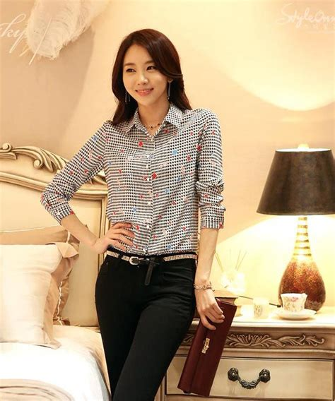 Elizabeth Blouse Blouse Murah 7 best kemeja wanita korea images on korea