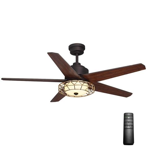 home decorators collection ceiling fan remote home decorators collection ellard 52 in led indoor oil