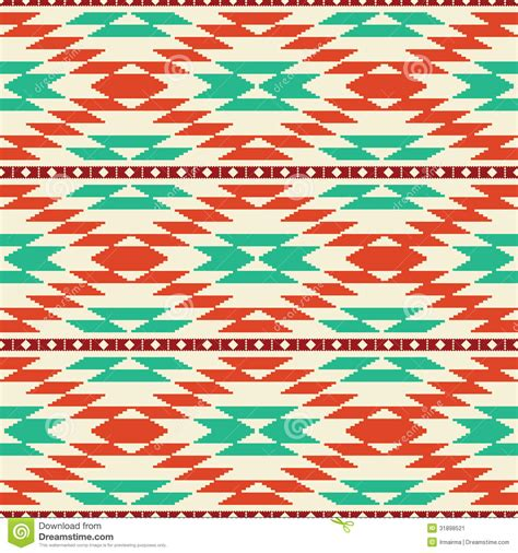 seamless tribal pattern rug pattern stock image image 31898521