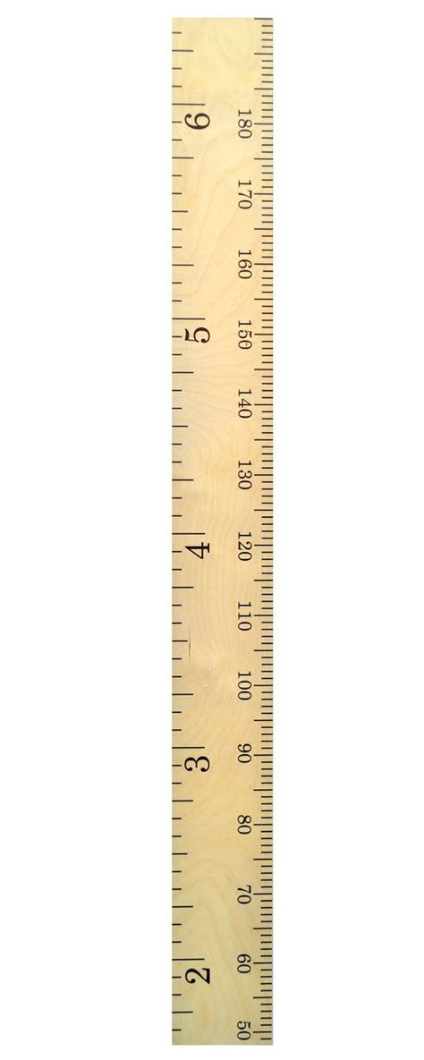 free printable height ruler schoolhouse wooden ruler growth chart kids wood height