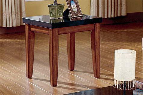 white granite end table city wood granite end table at gardner white