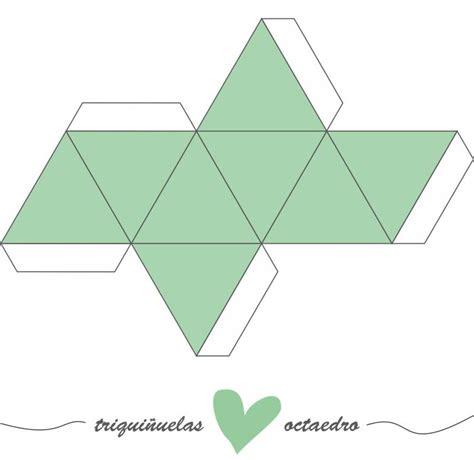figuras geometricas de 10 lados tutorial para desarrollar un octaedro escrap por