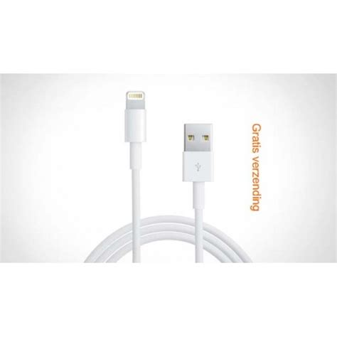 Kabel Data Iphone 5c usb oplaad data kabel voor apple iphone 5 5s 5c 3 4 air en ipod touch 5 8 pin lightning