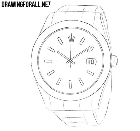 How To Draw A Drawingforall how to draw a rolex drawingforall net
