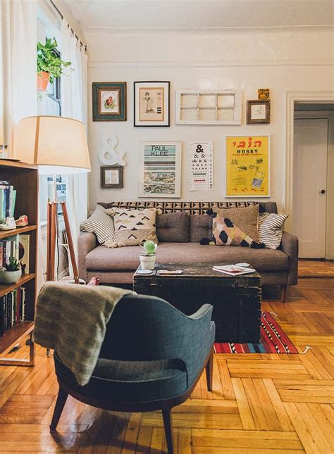 a cozy apartment for an artist and