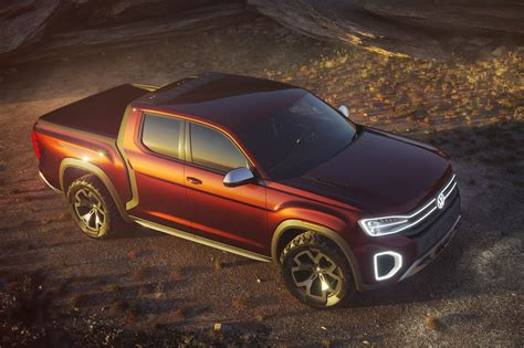 The Volkswagen Tanoak Is An Atlas Based Pickup Truck