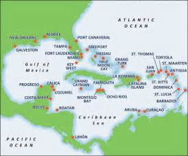 Caribbean Cruise Map by Caribbean Cruise Deals 2016 Amp 2017 Including Flights