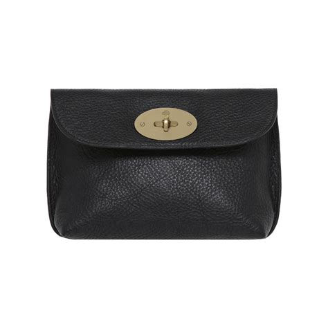 Mulberry Locked Purse by Mulberry Locked Cosmetic Purse In Black Lyst