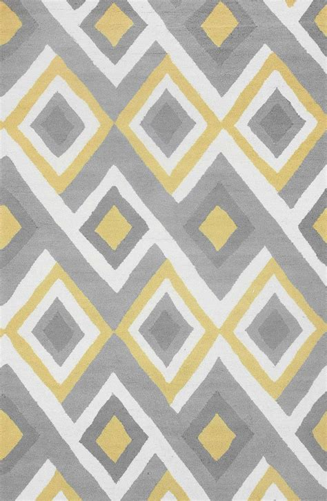 yellow pattern carpet 350 best color trend grey yellow images on pinterest
