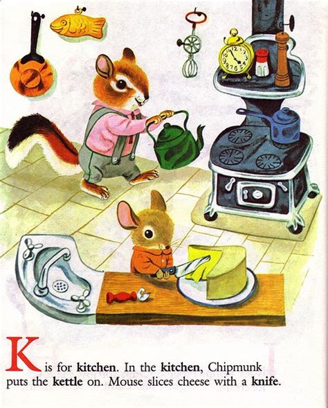 Mouse Kitchen Book Pin By Trish Cusack On The Non Frightening Richard Scarry