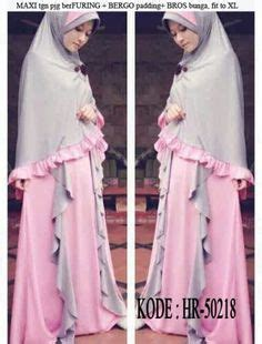Gamis Syari Motif Bahan Jersey 1000 images about baju muslim on hijabs fashion and styles