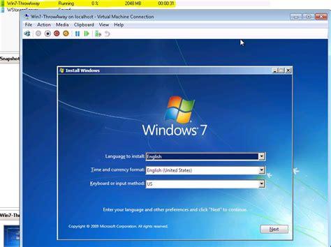 xp setup virtual host windows secure windows 7 vm on a whs server in hyper v