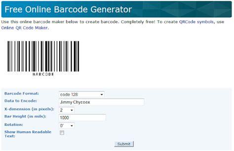 ketentuan membuat barcode cara membuat barcode