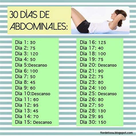 flor de tissu reto  dias de abdominales ejercicio abdominales  dias ejercicios de