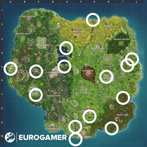 fortnite rubber duckies locations   find