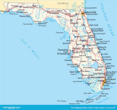 florida map image florida maps