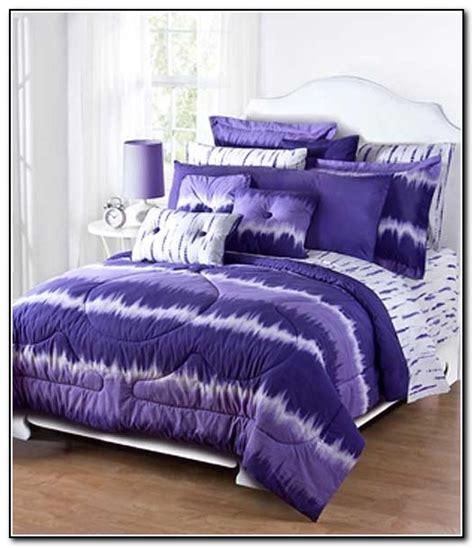 bed ties purple tie dye bedding beds home design ideas