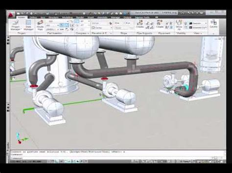 tutorial autocad piping autocad plant 3d pipe routing and isometric generation